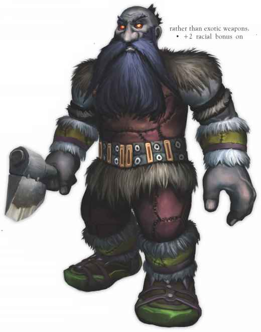 World Warcraft Character Dwarf